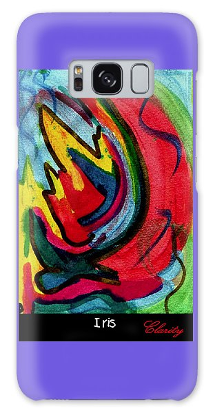Iris Galaxy Case by Clarity Artists