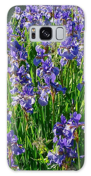 Iris Galaxy Case by Deborah Dendler