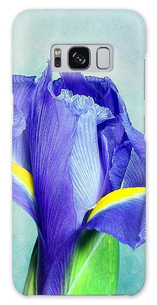 Iris Flower Of Faith And Hope Galaxy Case by Tom Mc Nemar