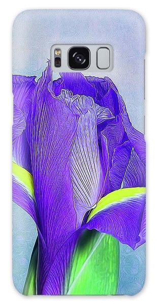 Iris Flower Galaxy Case by Tom Mc Nemar