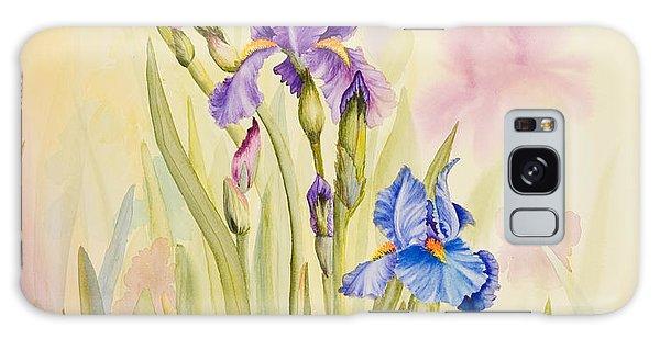 Iris Garden Ll Galaxy Case