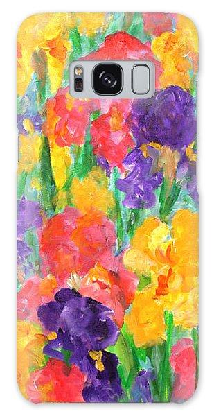 Iris Garden Galaxy Case