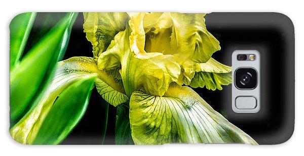 Iris In Bloom Galaxy Case