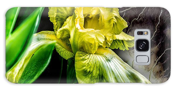 Iris In Bloom Two Galaxy Case