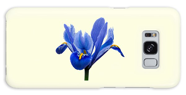 Iris Recticulata Transparent Background Galaxy Case