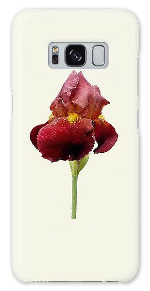 Iris Vitafire Cream Background Galaxy Case