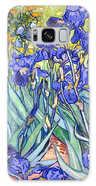 Galaxy Case featuring the painting Irises by Van Gogh