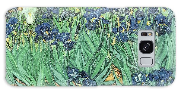Impressionism Galaxy Case - Irises by Vincent Van Gogh