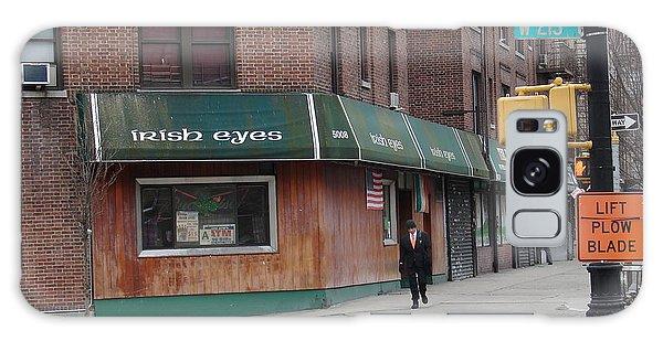 Irish Eyes Galaxy Case by Cole Thompson