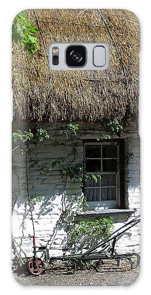 Irish Farm Cottage Window County Cork Ireland Galaxy Case