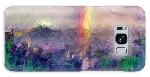 Irish Rainbow Galaxy Case