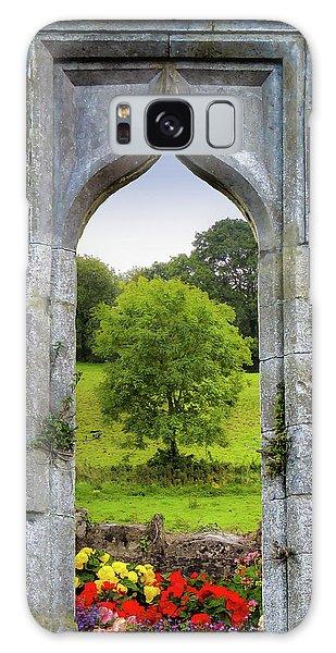 Galaxy Case featuring the photograph Irish Summer Through Kildysart Church Ruins by James Truett