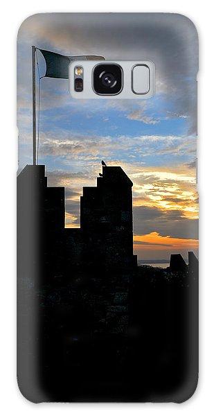 Irish Sunset Over Ramparts 1 Galaxy Case
