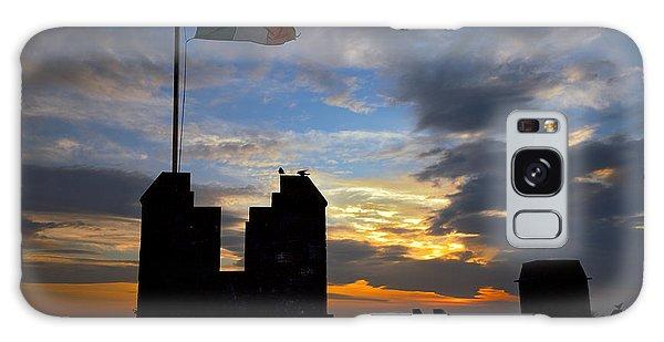 Irish Sunset Over Ramparts 2 Galaxy Case