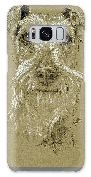 Irish Terrier Galaxy Case by Barbara Keith