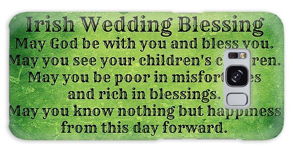 Irish Wedding Blessing Galaxy Case
