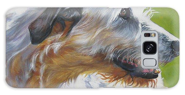 Sighthound Galaxy Case - Irish Wolfhound Beauty by Lee Ann Shepard