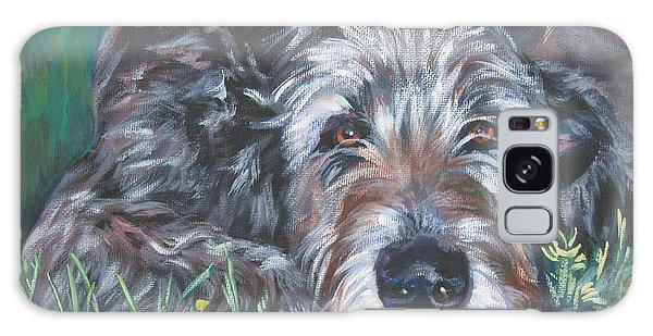 Irish Wolfhound Galaxy Case by Lee Ann Shepard