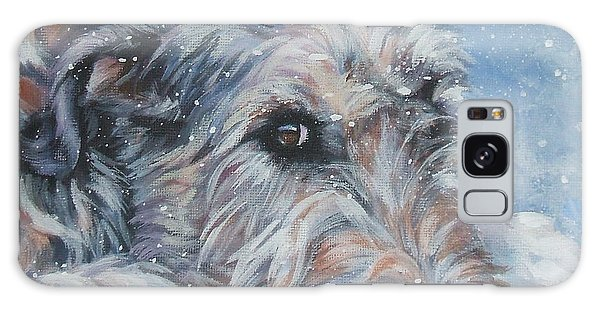 Irish Wolfhound Resting Galaxy Case by Lee Ann Shepard