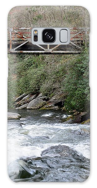 Iron Bridge Over Chattooga River Galaxy Case by Bruce Gourley