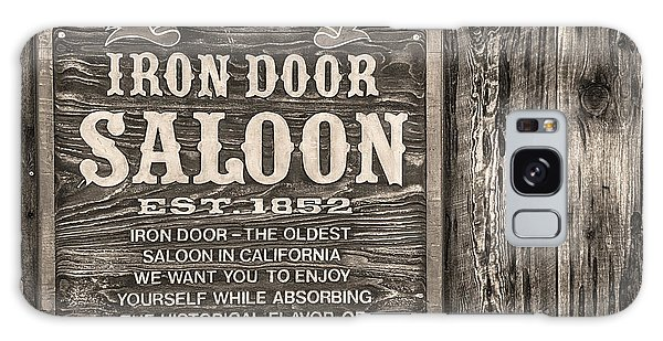 Iron Door Saloon 1852 Galaxy Case by David Millenheft