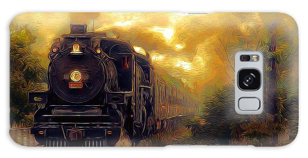 Galaxy Case featuring the photograph Iron Horse by Aaron Berg