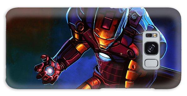 Men Galaxy Case - Iron Man by Paul Meijering