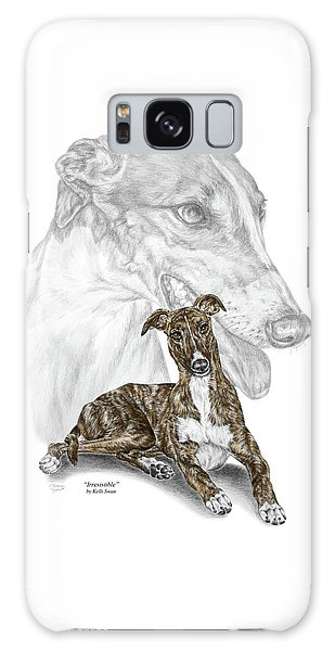 Irresistible - Greyhound Dog Print Color Tinted Galaxy Case