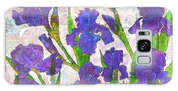 Irresistible Irises Galaxy Case