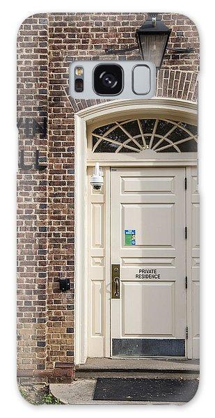 Irvin Hall Penn State  Galaxy Case by John McGraw