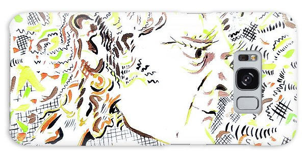 Galaxy Case - Isaac Newton by Dave Martsolf