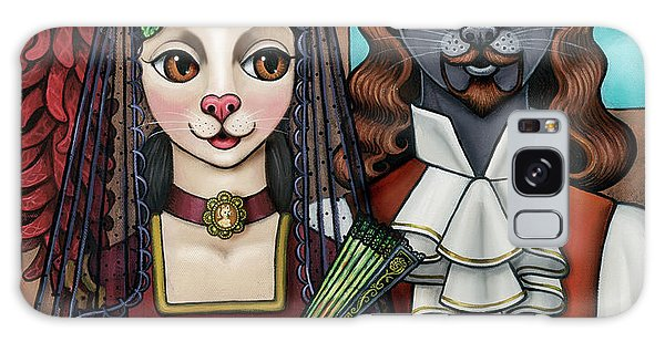 Cats Of Spain Galaxy Case