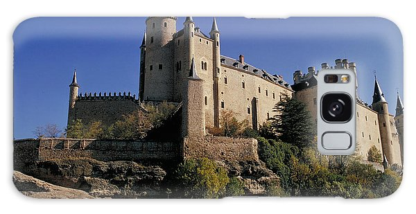 Isabella's Castle In Segovia Galaxy Case