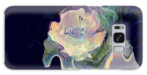 Scarf Galaxy Case - Isadora And The Trumpet Flower by Zsanan Studio