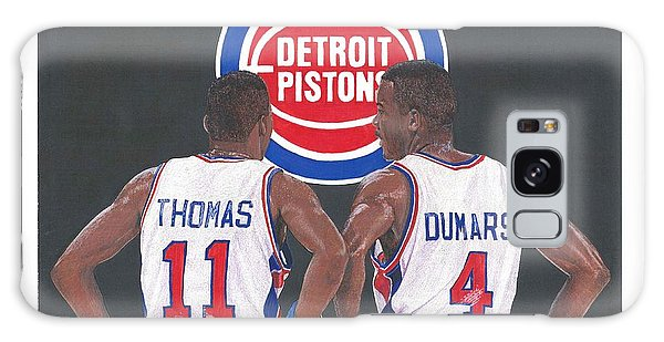 Isiah Thomas And Joe Dumars Galaxy Case
