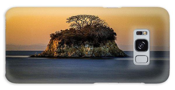 Island At Sunset Galaxy Case
