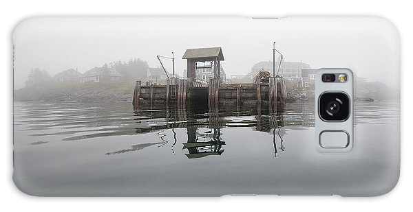 Island Boat Dock Galaxy Case