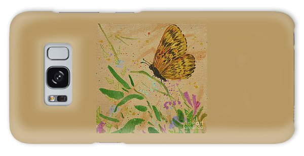 Island Butterfly Series 4 Of 6 Galaxy Case
