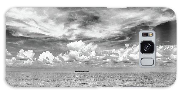 Island, Clouds, Sky, Water Galaxy Case