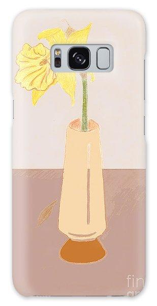 Island Daffodil Galaxy Case