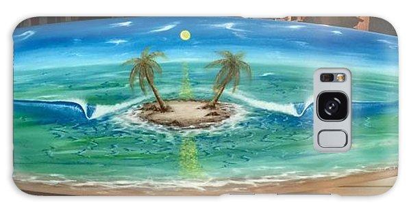 Island Dream  Galaxy Case