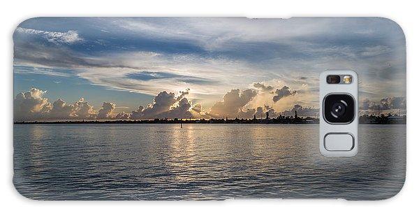 Island Horizon Galaxy Case by Christopher L Thomley