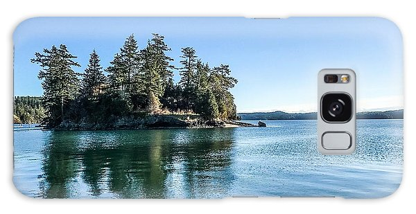 Island In West Sound Galaxy Case