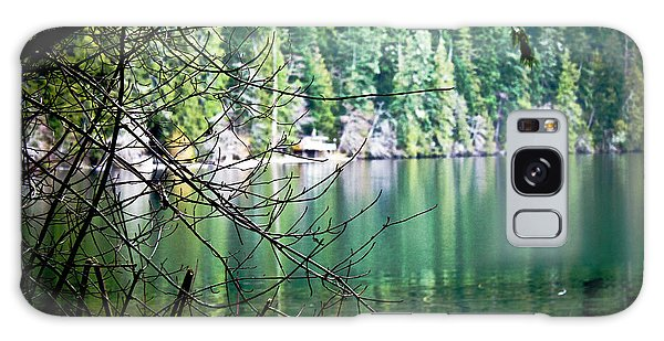 Island Lake Vignette Galaxy Case
