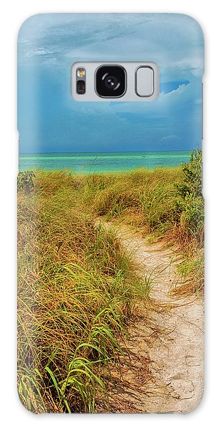 Island Path Galaxy Case by Swank Photography