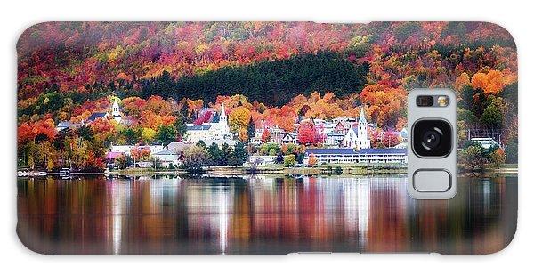 Island Pond Vermont Galaxy Case