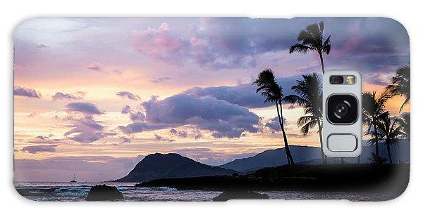 Island Silhouettes  Galaxy Case by Heather Applegate
