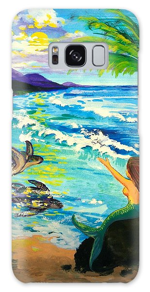 Island Sisters Galaxy Case by Karon Melillo DeVega