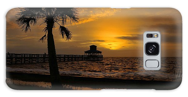Island Sunrise Galaxy Case