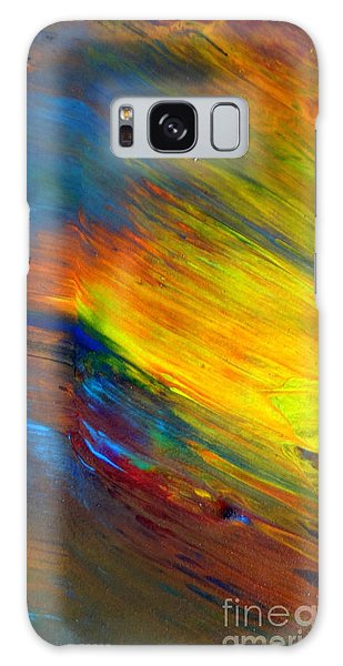 Island Sunset Galaxy Case by Fred Wilson